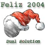 Dual Solution les desea feliz año 2004