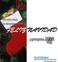 Dual Solution les desea Feliz Navidad