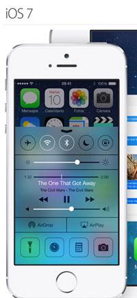 Novedades del iOS 7