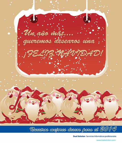 Dual Solution les desea Felices Fiestas
